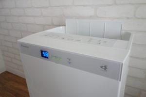 ダイキンMCK70T加湿ストリーマ空気洗浄機は奥行きもあって大きい