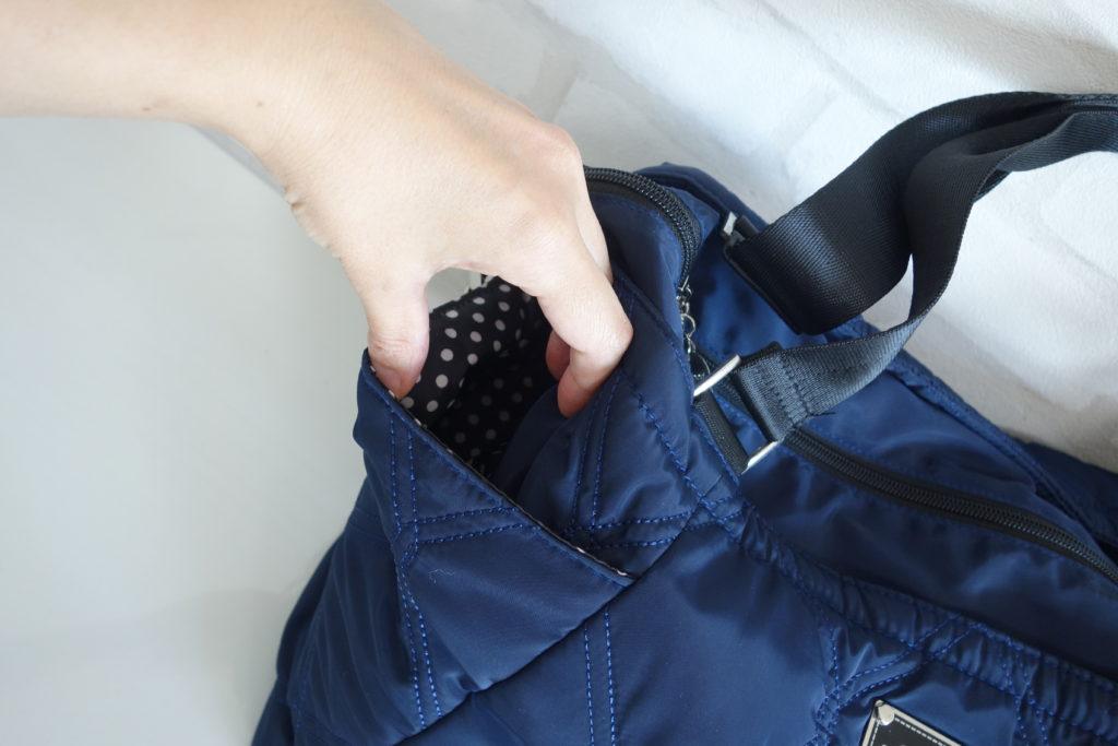 THEA THEA(ティアティア)のマザーズバッグのサイドポケット
