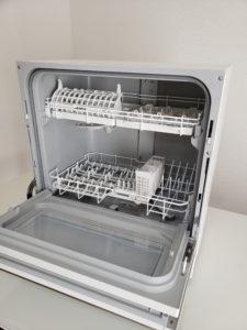 パナソニック食器洗い乾燥機はタッチパネルで開く