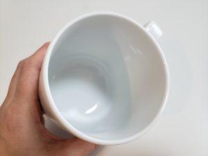 マグカップドライジーの内側の形状